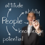 People skills, knowledge, ability, attitude and potential